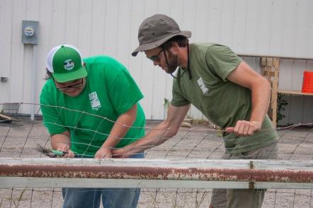 Boys Grow - construction crew