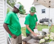 Boys Grow - kitchen crew5