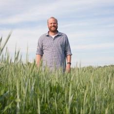 Buller Family Farm - Tom in field