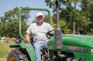 Red Ridge Farm - Jim tractor